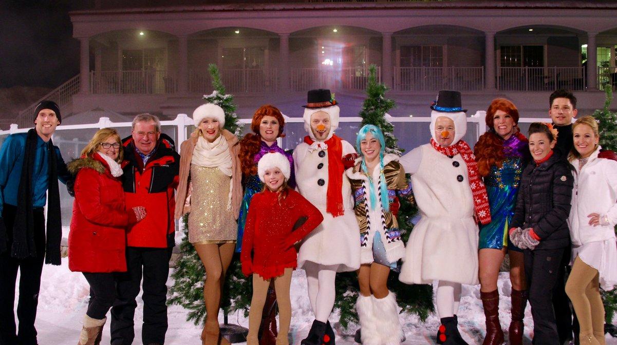Full Skating Cast