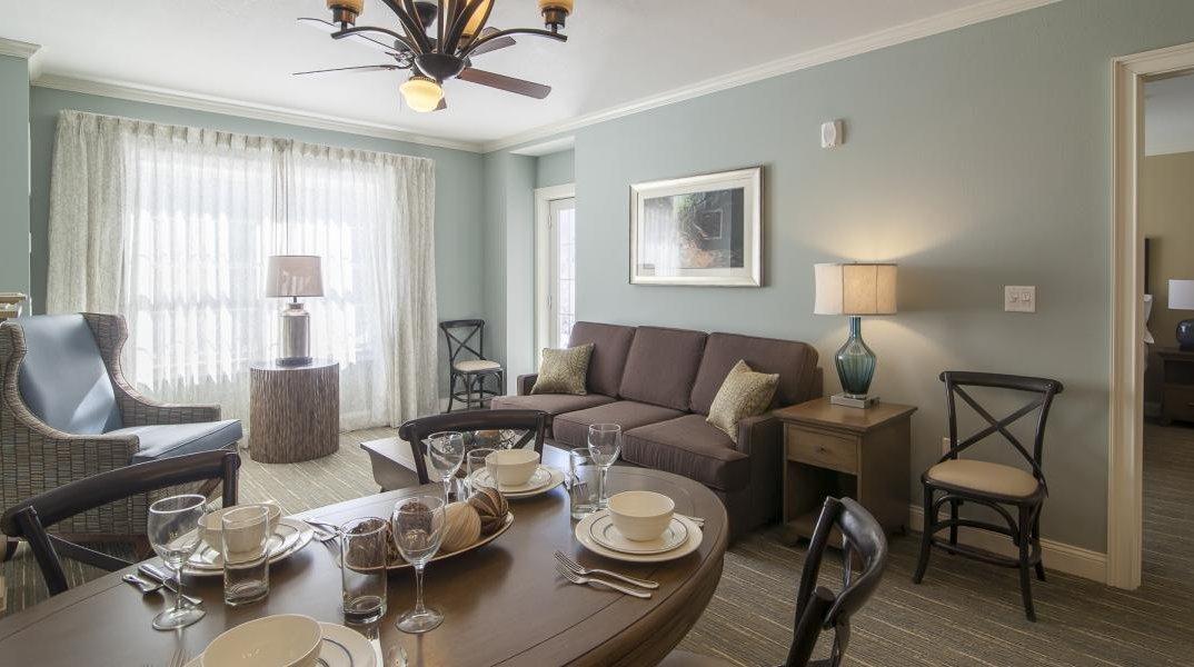 RiverWalk Suite Living Area