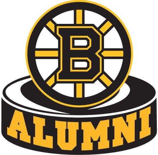 Boston Bruins Official Alumni Logo