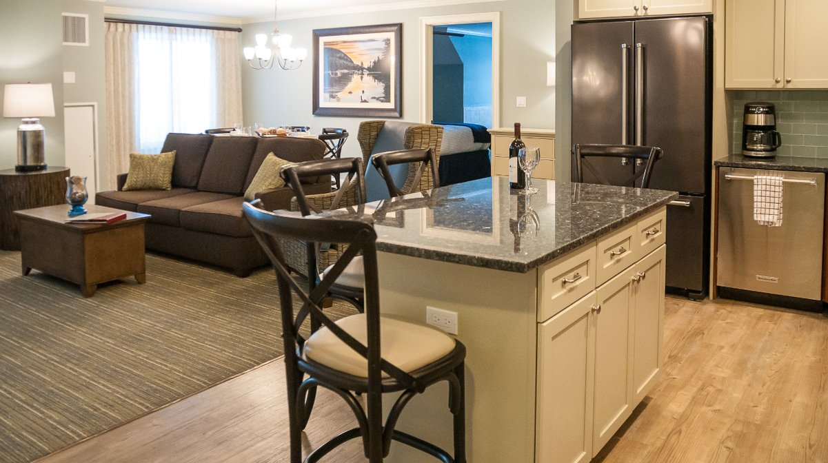 RiverWalk Resort Presidential Living Area