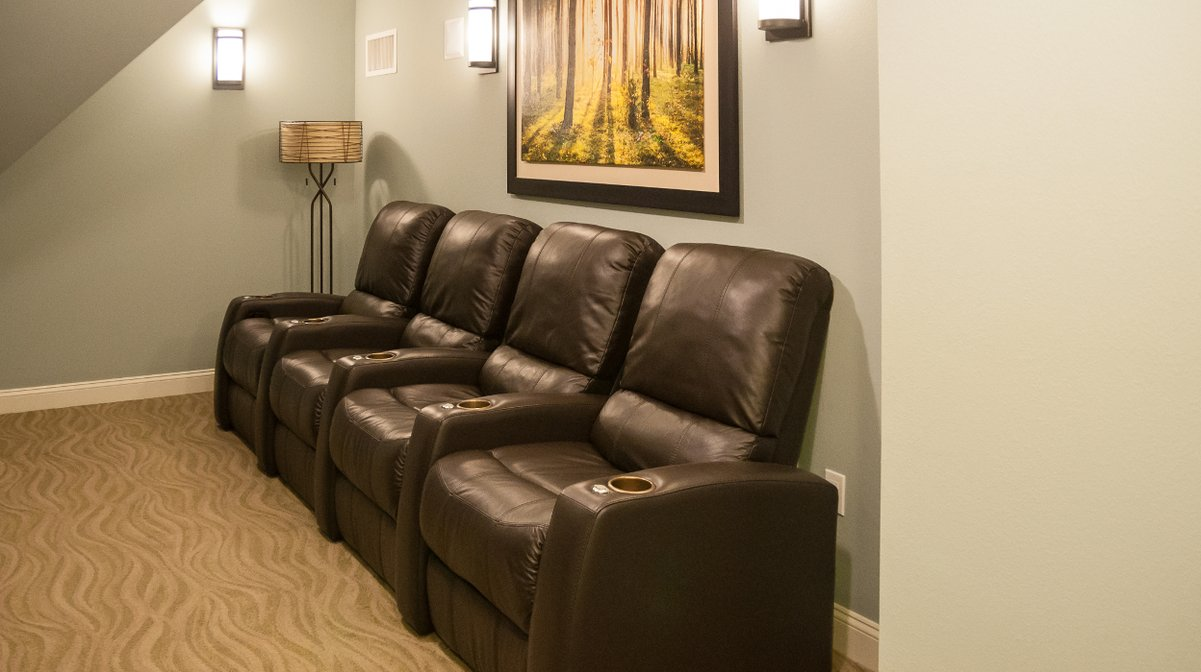 RiverWalk Resort Presidential Movie Room