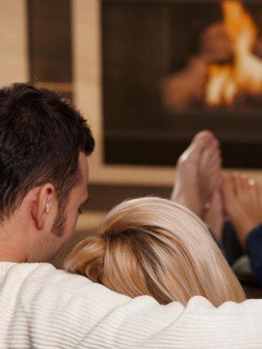 Fireplace Ambience at RiverWalk Resort