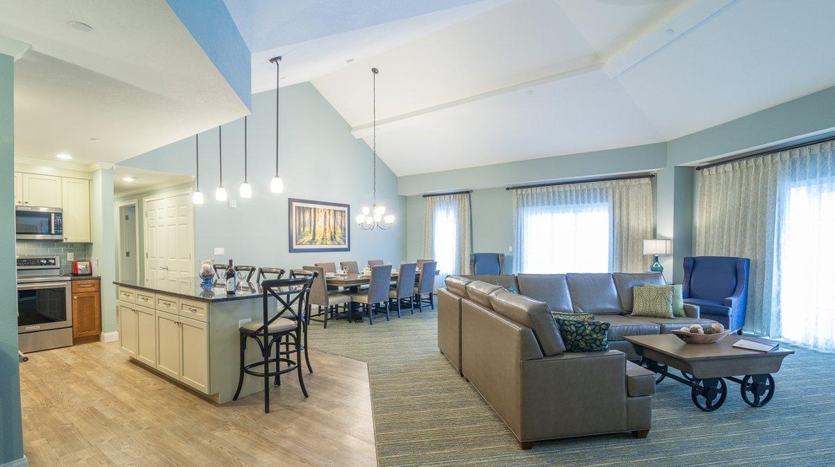 RiverWalk Resort Penthouse Living Area